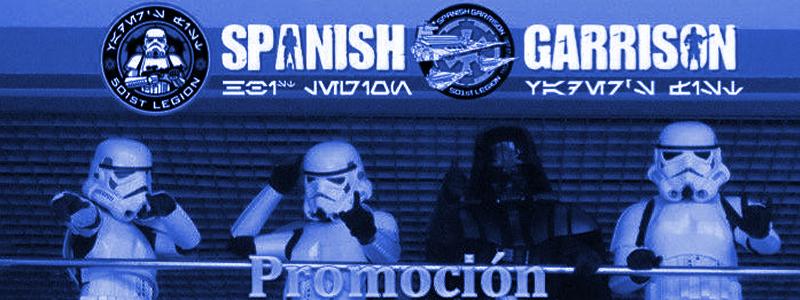 Promoción Blu-Ray Legión 501 Spanish Garrison