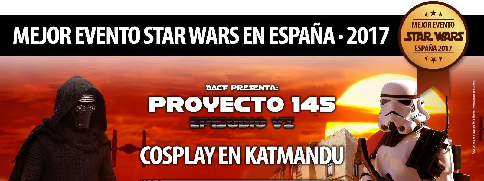 PREMIO AL MEJOR EVENTO STAR WARS ESPAÑA 2017!!!