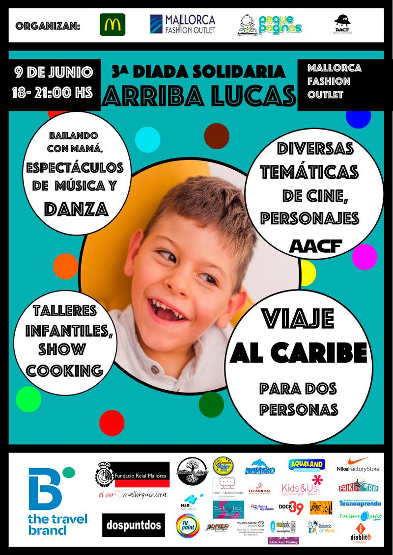 DIADA SOLIDARIA ARRIBA LUCAS 3ª edición