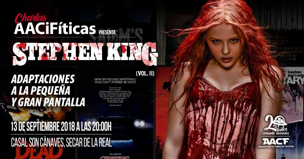 STEPHEN KING Vol.II – Charla AACiFítica