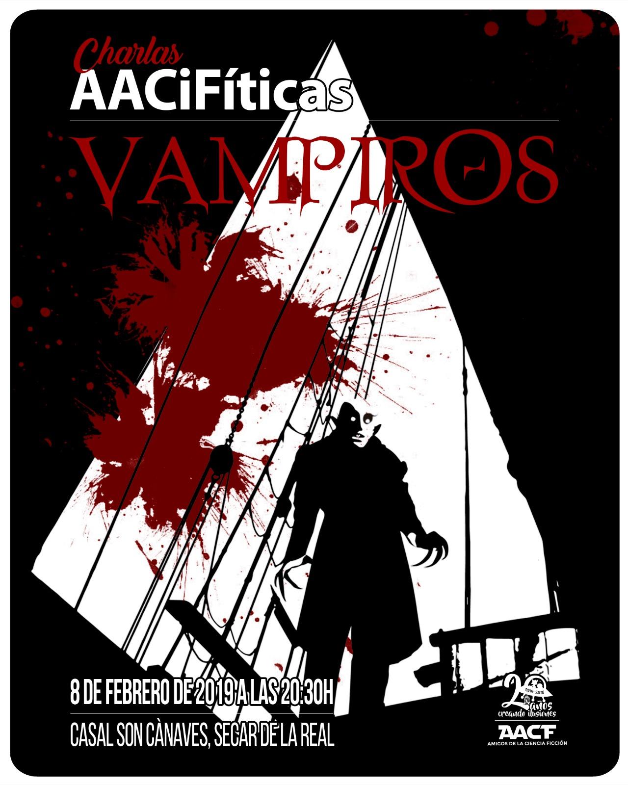 """CHARLA AACiFítica: """"VAMPIROS"""""""