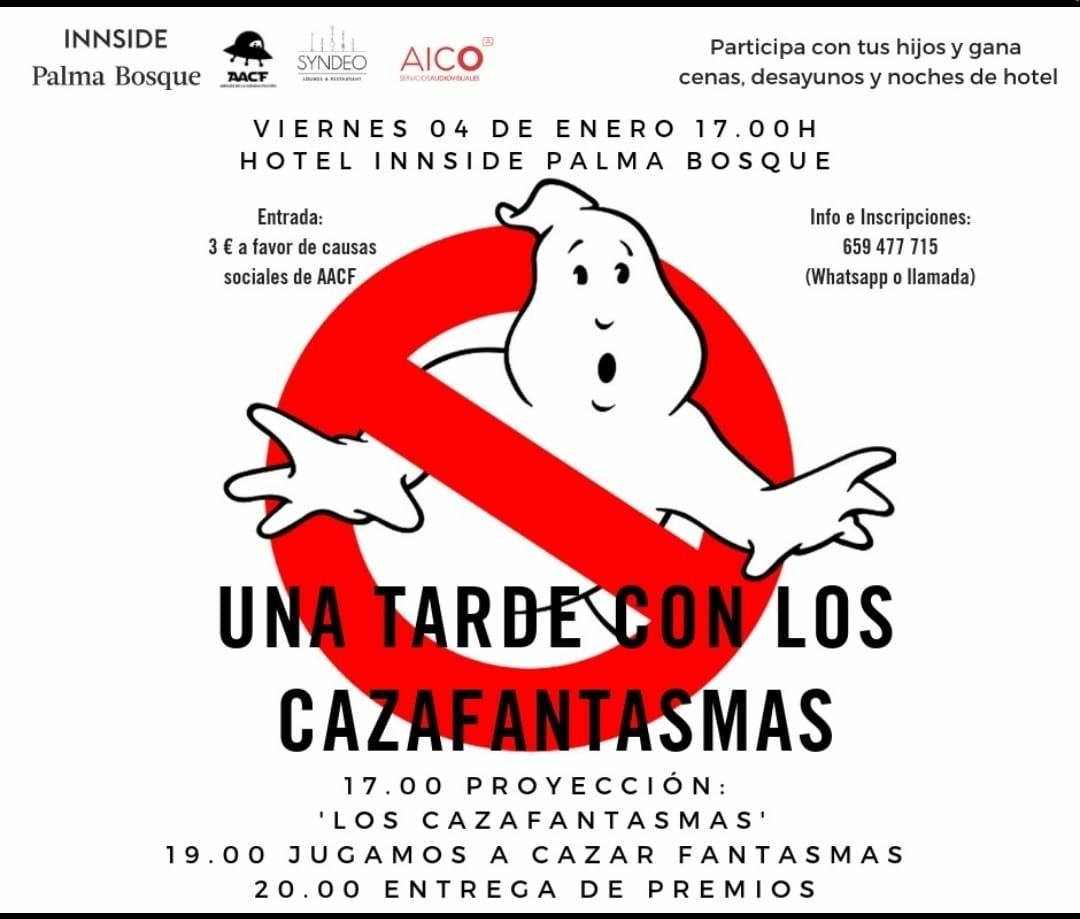 UNA TARDE CON LOS CAZAFANTASMAS (Htl. Innside Palma Bosque)