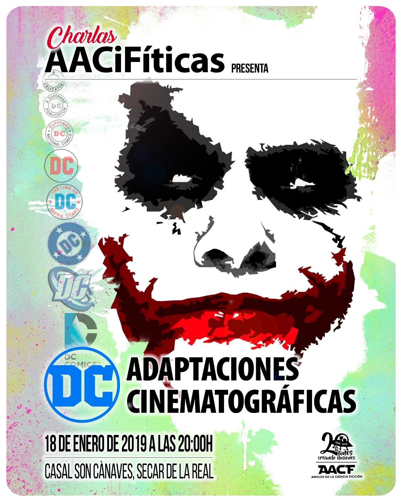 """CHARLA AACiFítica: """"Adaptaciones cinematográficas de DC"""""""
