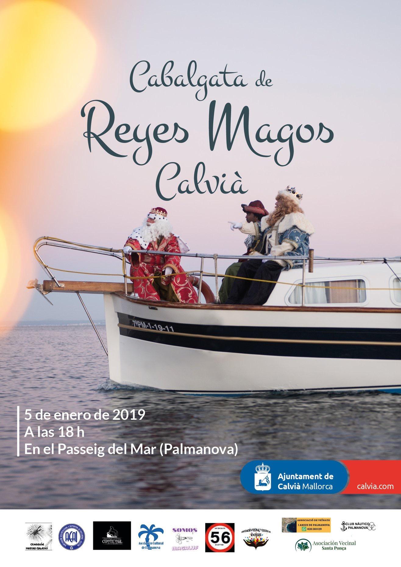 CABALGATA DE SSMM LOS REYES MAGOS EN CALVIÀ