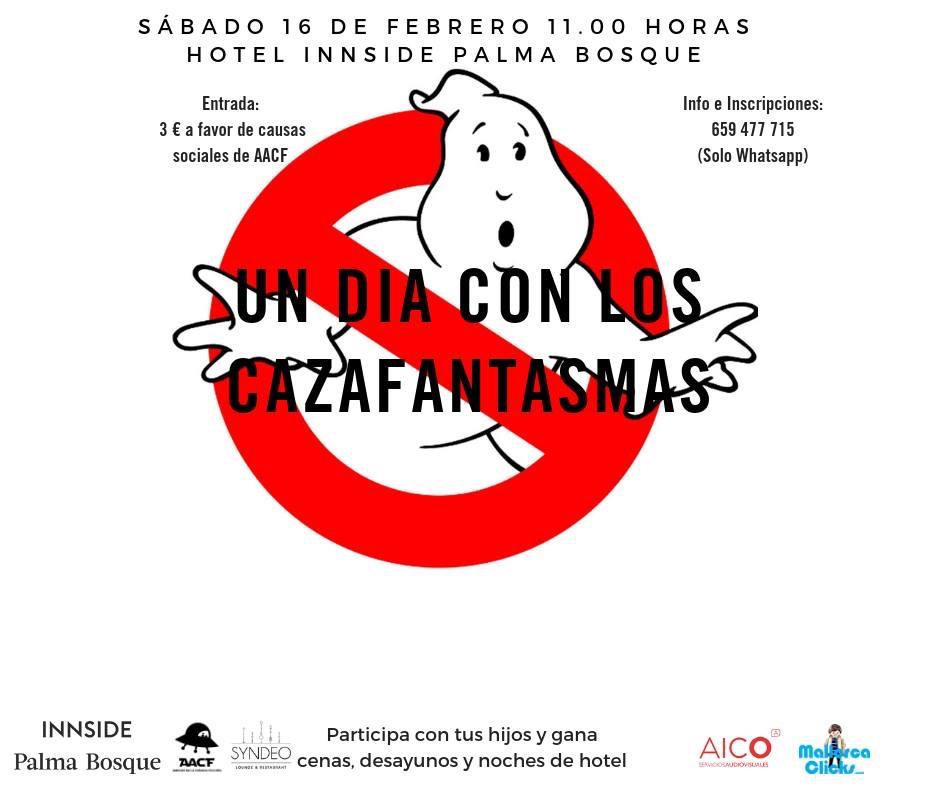 UN DÍA CON LOS CAZAFANTASMAS (Htl. Innside Palma Bosque)