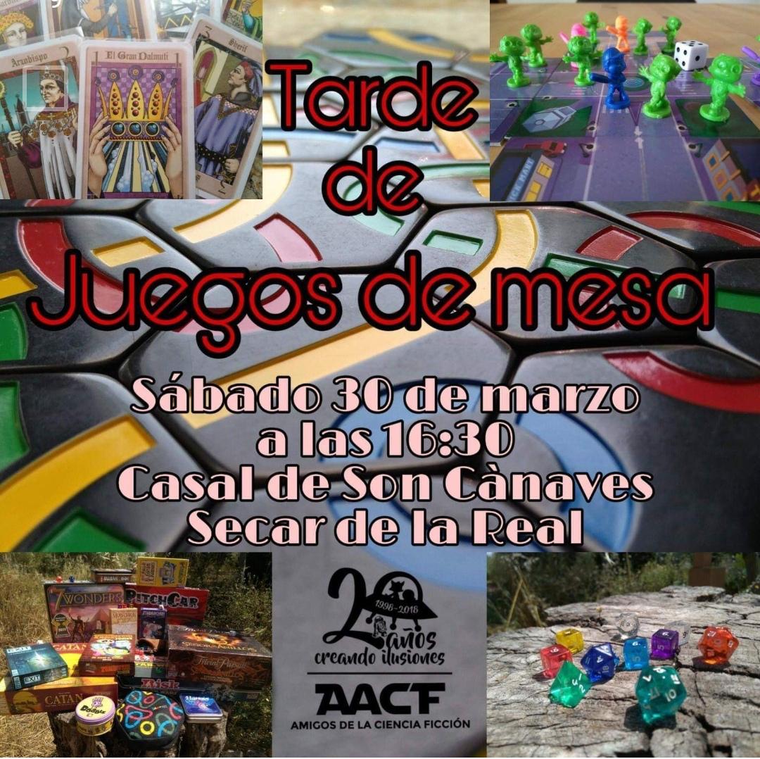 TARDE DE JUEGOS DE MESA