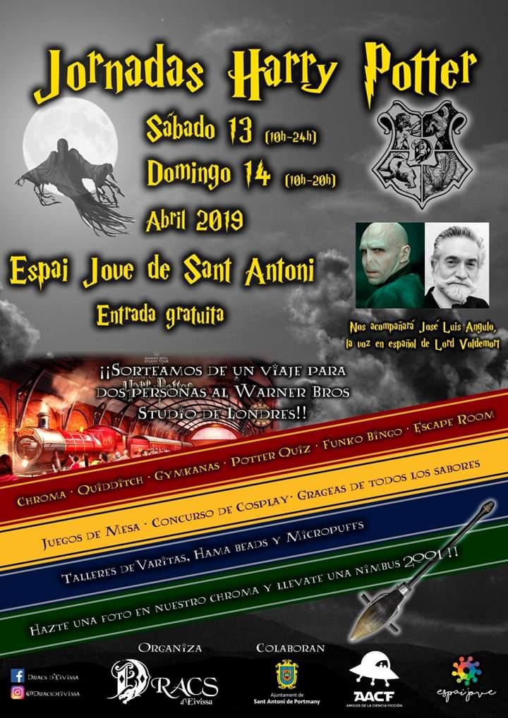 III JORNADAS HARRY POTTER de Dracs d'Eivissa 13 y 14 de Abril