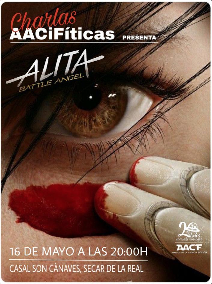 "CHARLA AAciFítica: ""Alita, Ángel de Combate"""