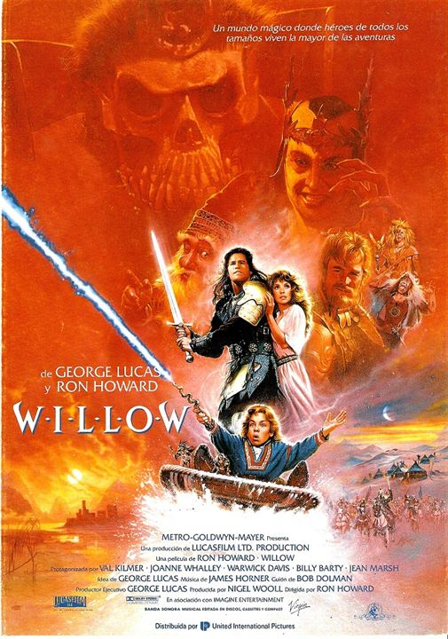 "CINEFORUM: ""WILLOW"" (16/08/19 a las 18:00 hrs)"