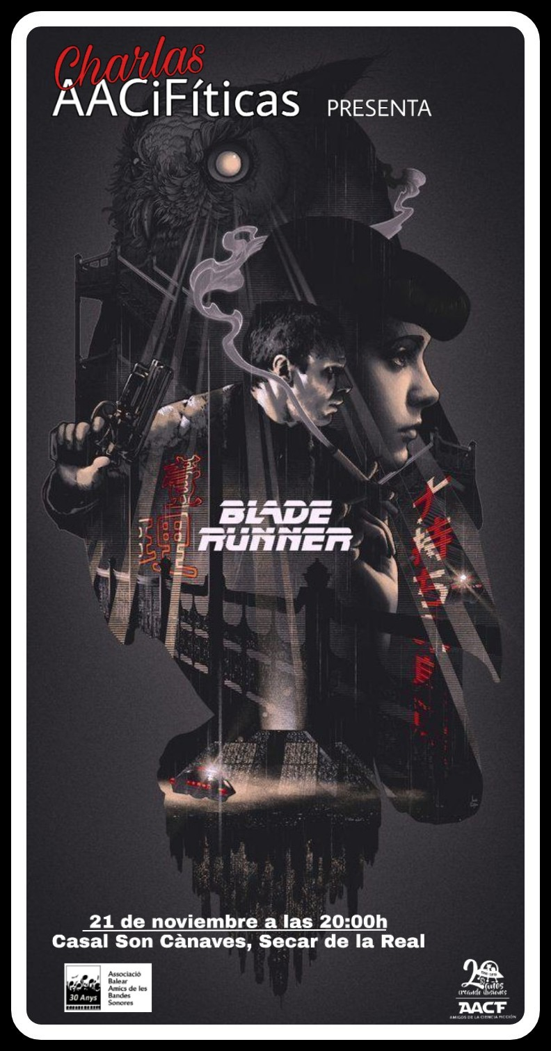 Charla AACiFítica: Blade Runner (21/11/19)
