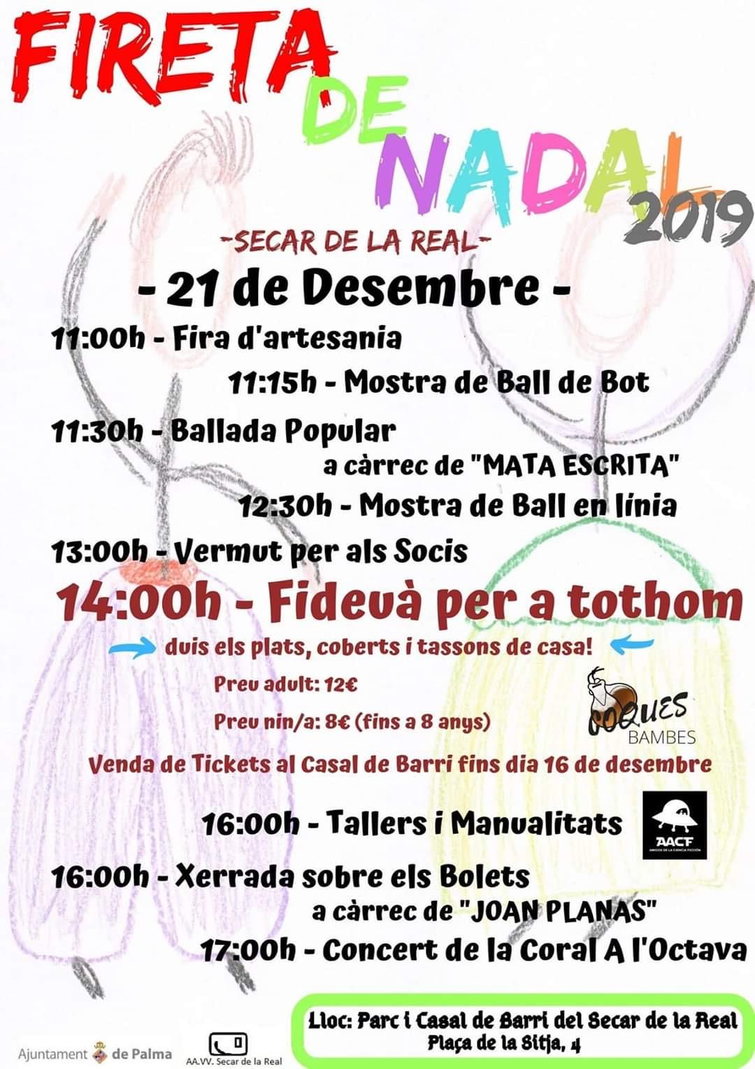 FIRETA DE NADAL 2019 (21/12) en Secar de la Real