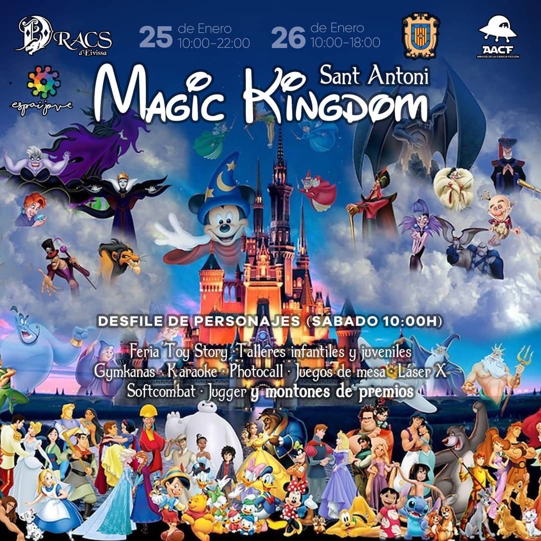 MAGIC KINGDOM (25 y 26/02 en Sant Antoni – Ibiza)