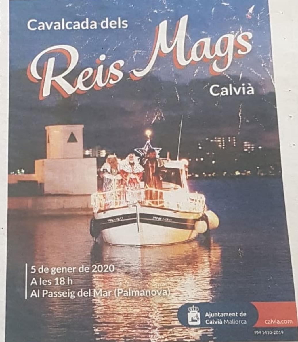 CALVIÀ: CABALGATA DE SSMM LOS REYES MAGOS (05/01/20)