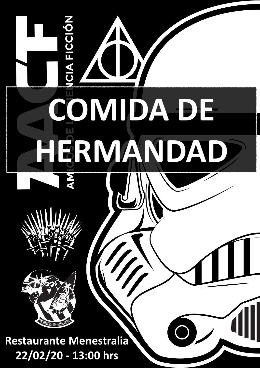 COMIDA DE HERMANDAD AACF (22/02/20) – RTE. MENESTRALIA