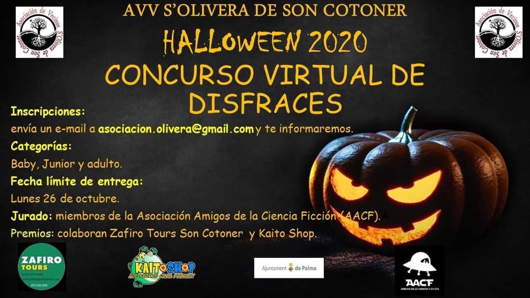 Concurso virtual de disfraces Halloween 2020